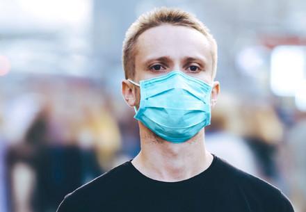 Mondkapje tegen pandemie