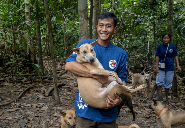 Rescued! Our team were able to save lives moments before slaughter