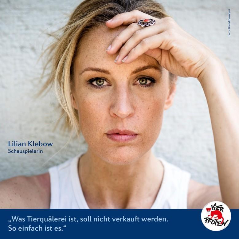 Lilian Klebow (c) VIER PFOTEN   Bernd Brundert