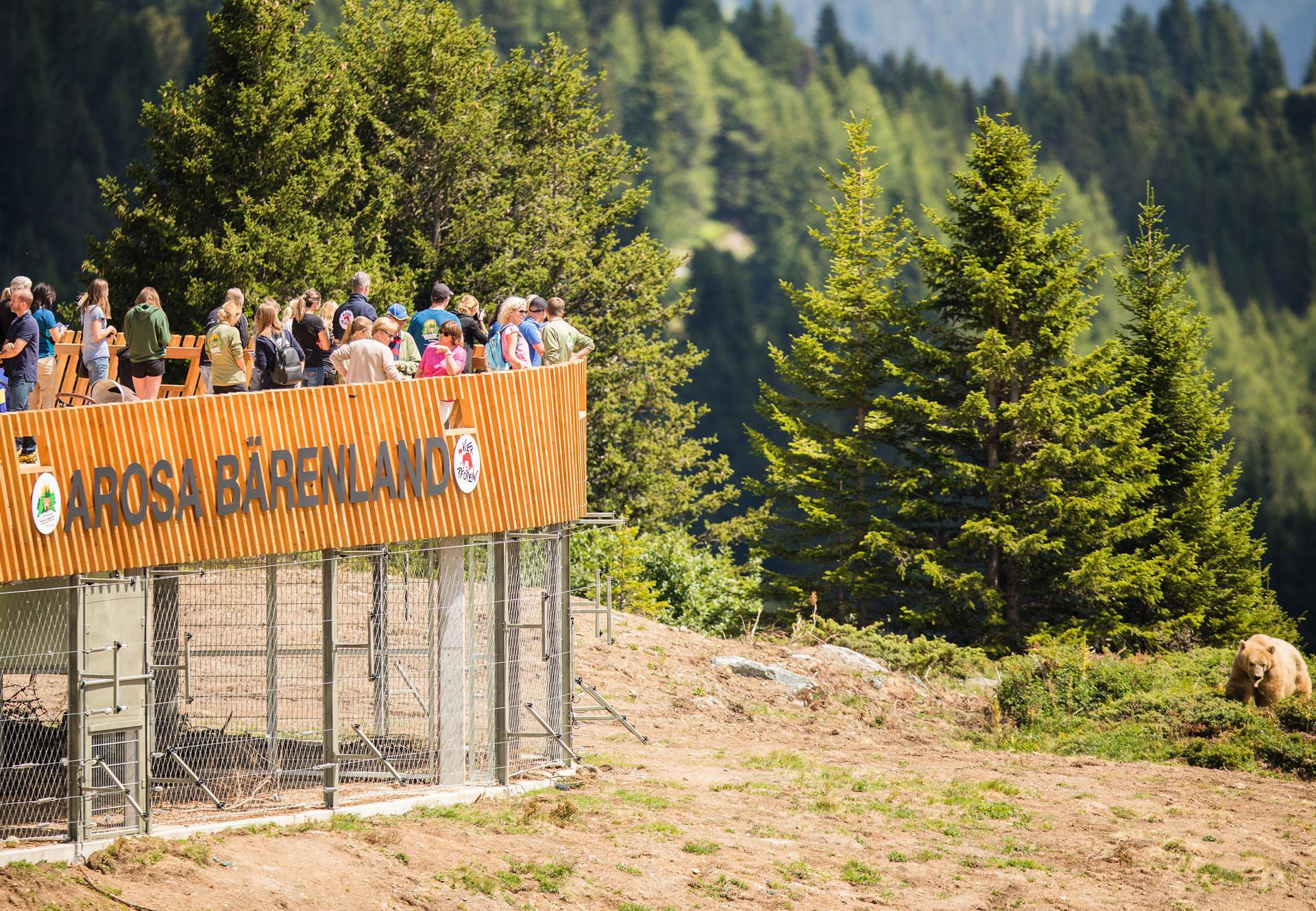 Eröffnung Arosa Bärenland