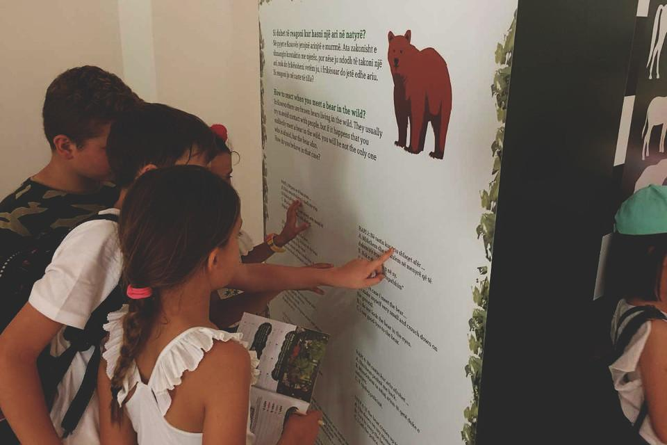 Children and Youth programme at BEAR SANCTUARY Prishtina