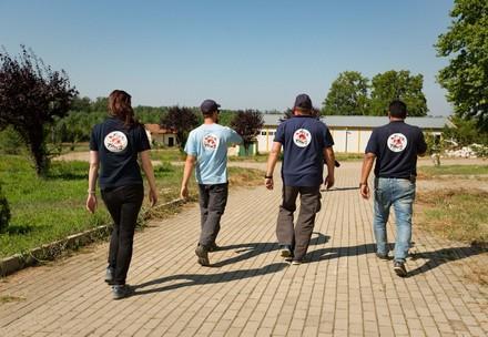 Team on a mission