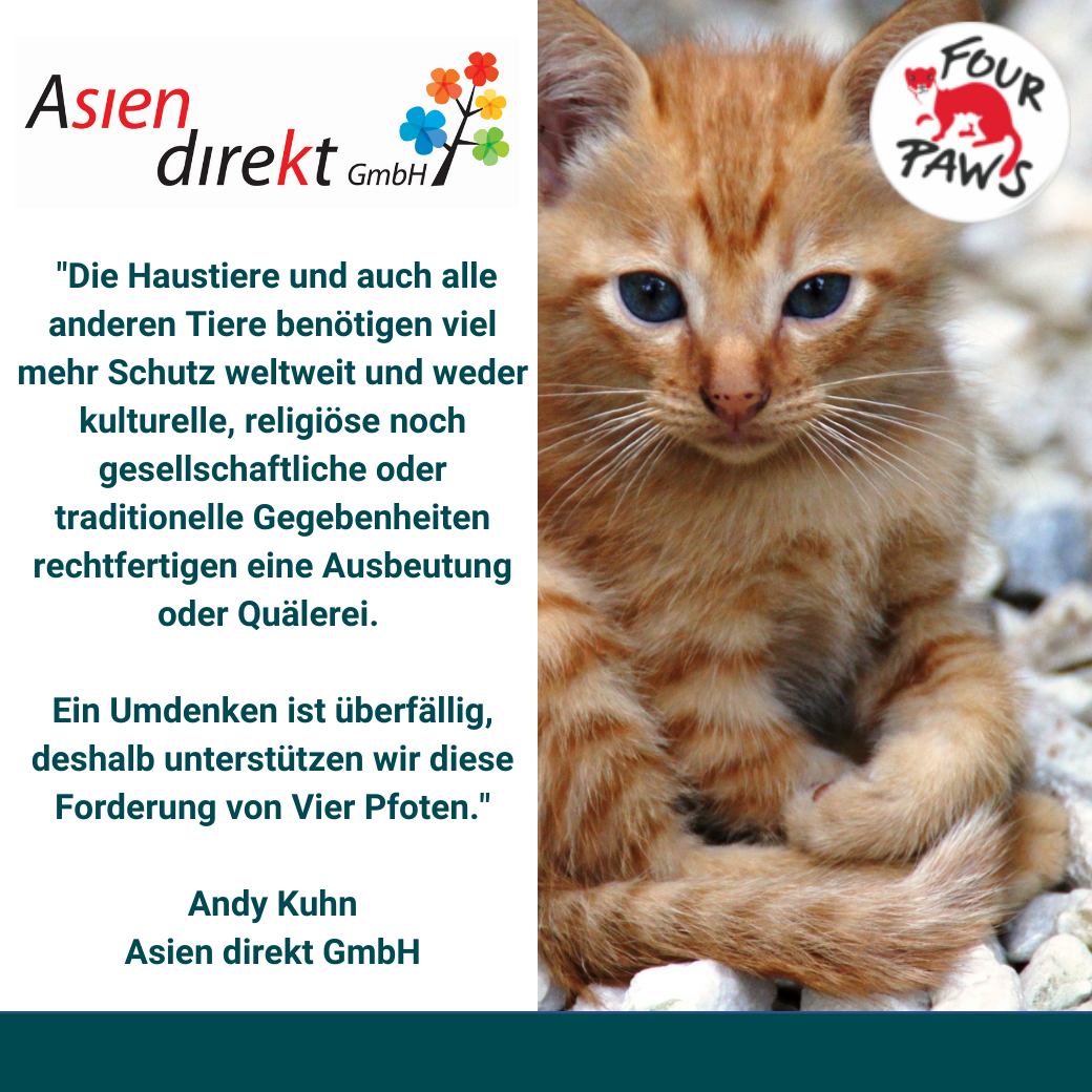 Thanks to Asien direkt