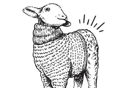 Wolle mit Po Logo