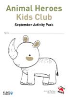 Animal Heroes Kids Club: September