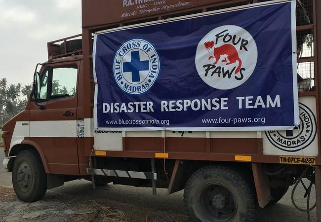 Disaster Relief truck Cyclone 'Fani'