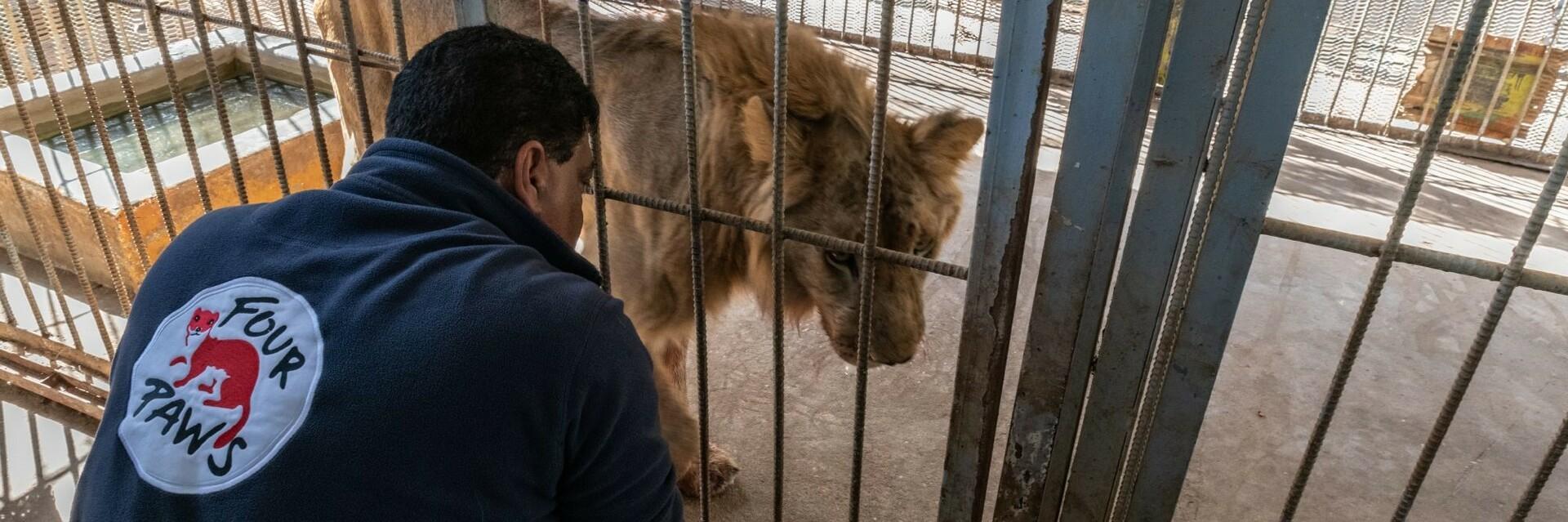 Le Dr Amir Khalil lors d'une mission au Soudan