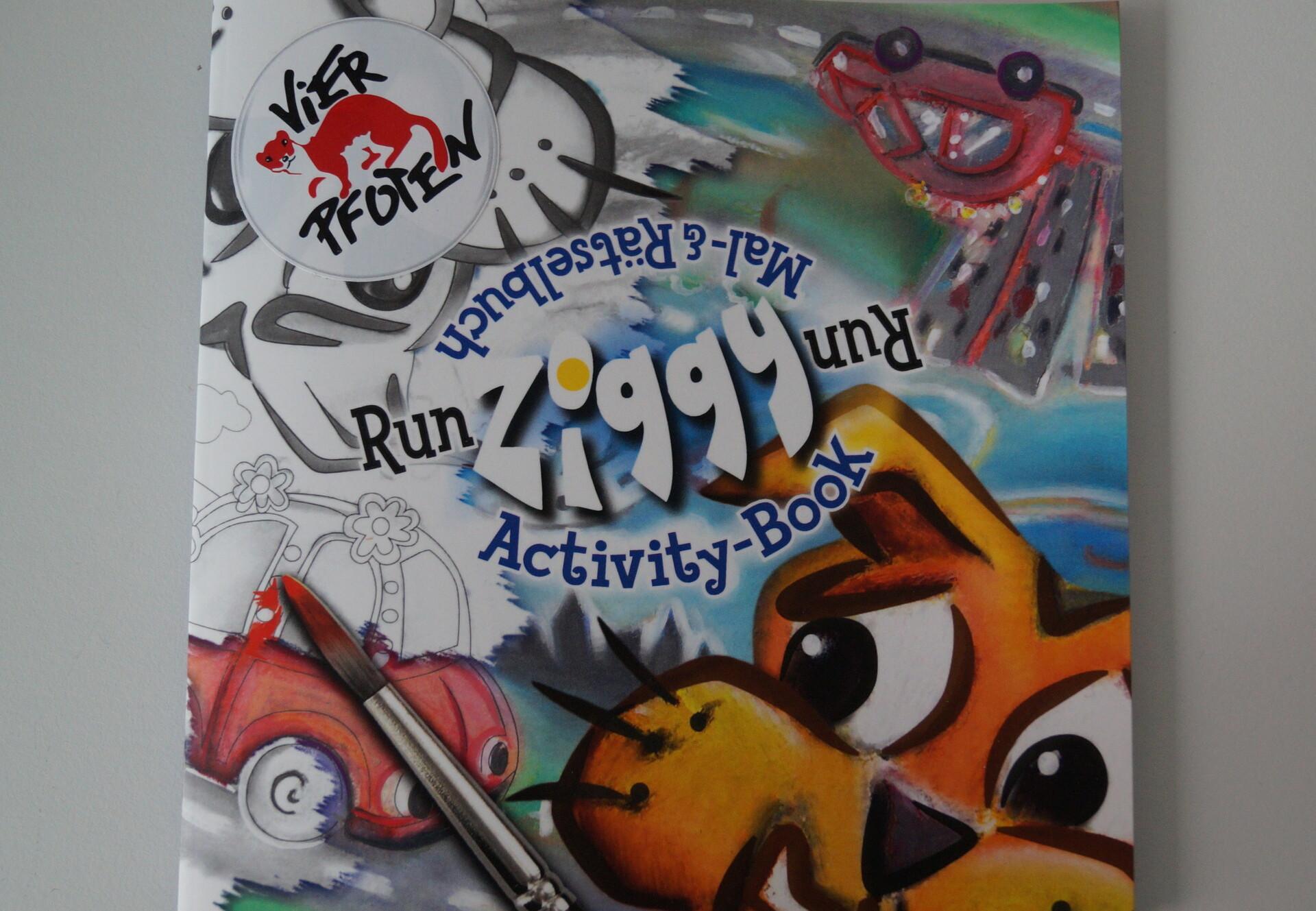 Livre pour enfants : « Run ziggy run »