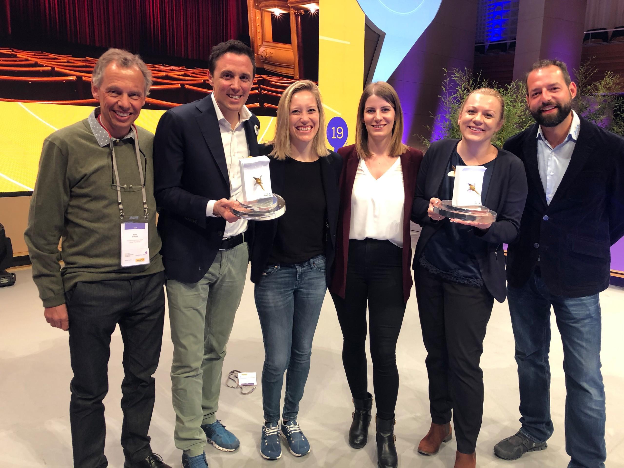 Marketing Trophy Gewinner