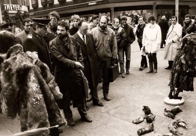 1988 fur demonstration