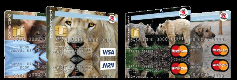 Carte de crédit QUATRE PATTES