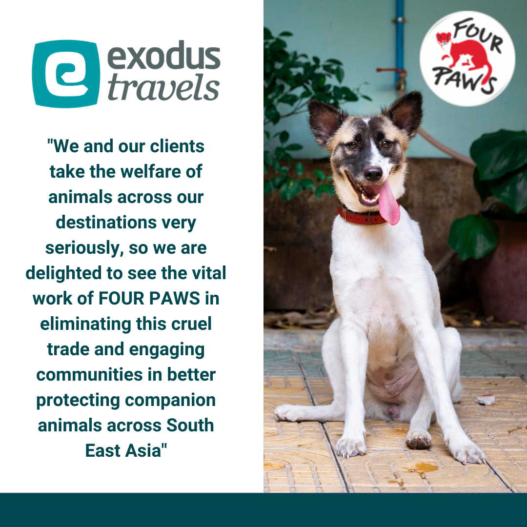 Thanks to Exodus Travels