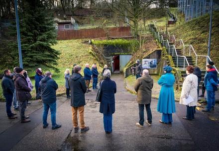 Besuchergruppe in TIERART