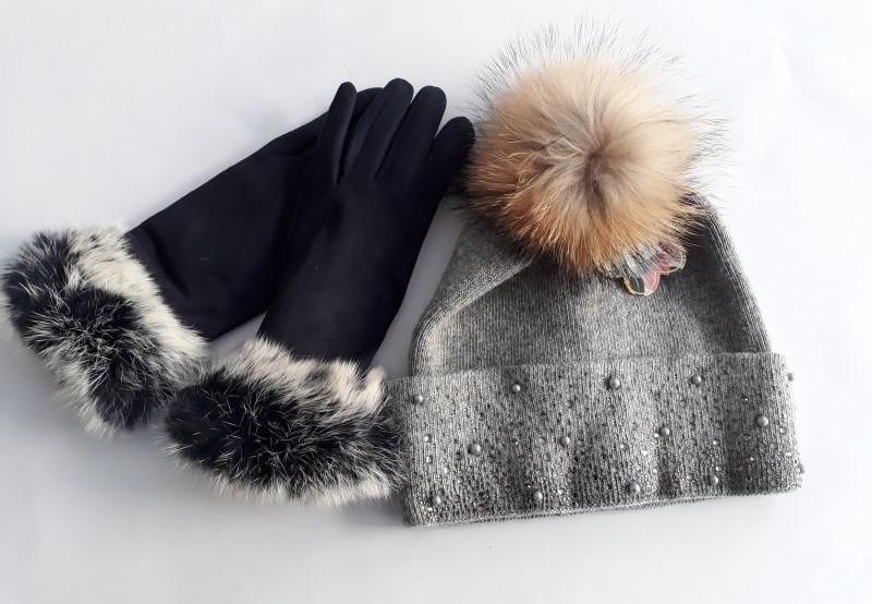Echtpelz auf Wiener Markt gefunden auf Haube und Handschuhe (c) VIER PFOTEN