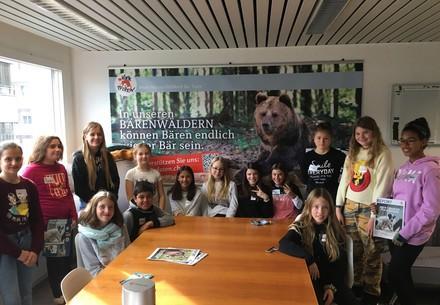 Zukunftstag: Kinder besuchen VIER PFOTEN