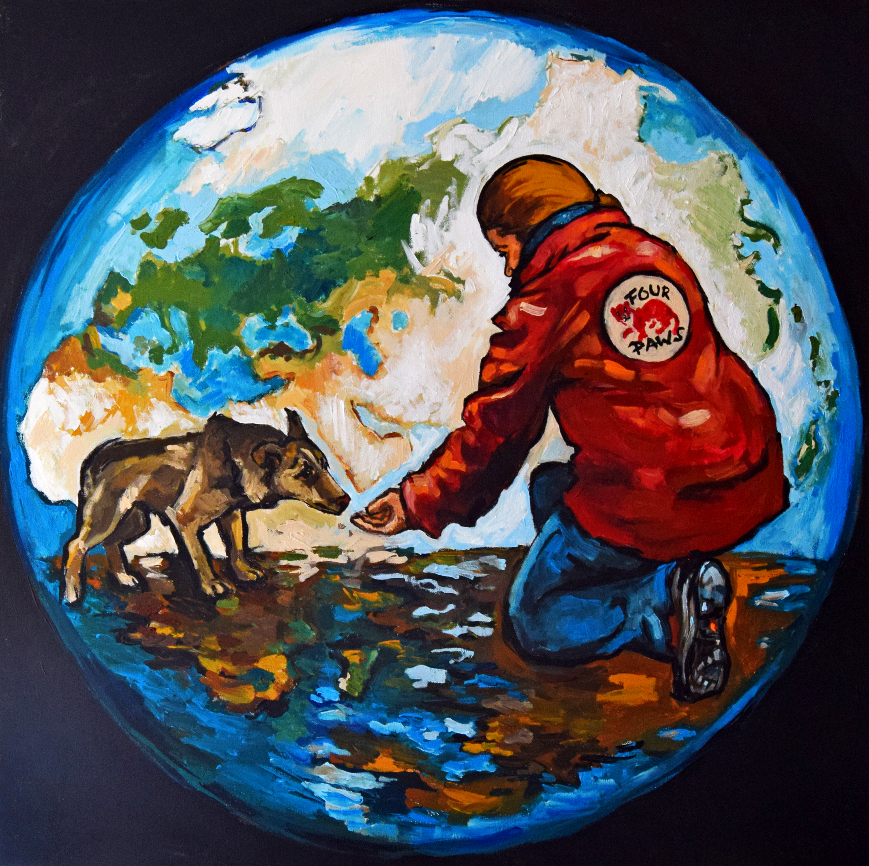 7. Reducing stray animal suffering, created by Magdalena P