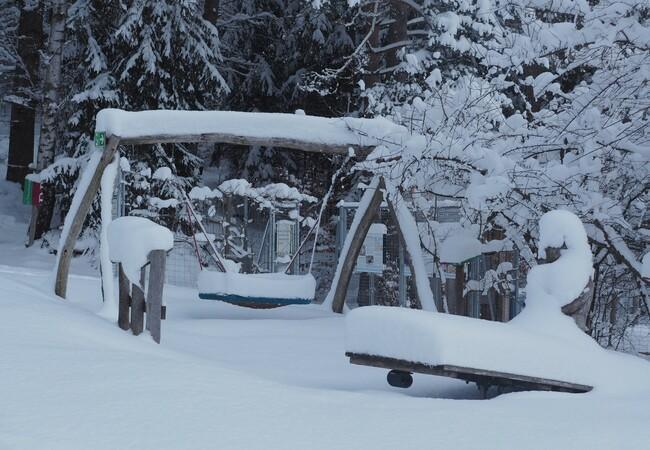 So viel Schnee!