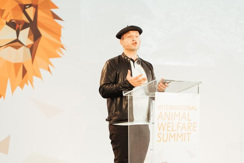 Guillaume Betton beim IAWS 2018