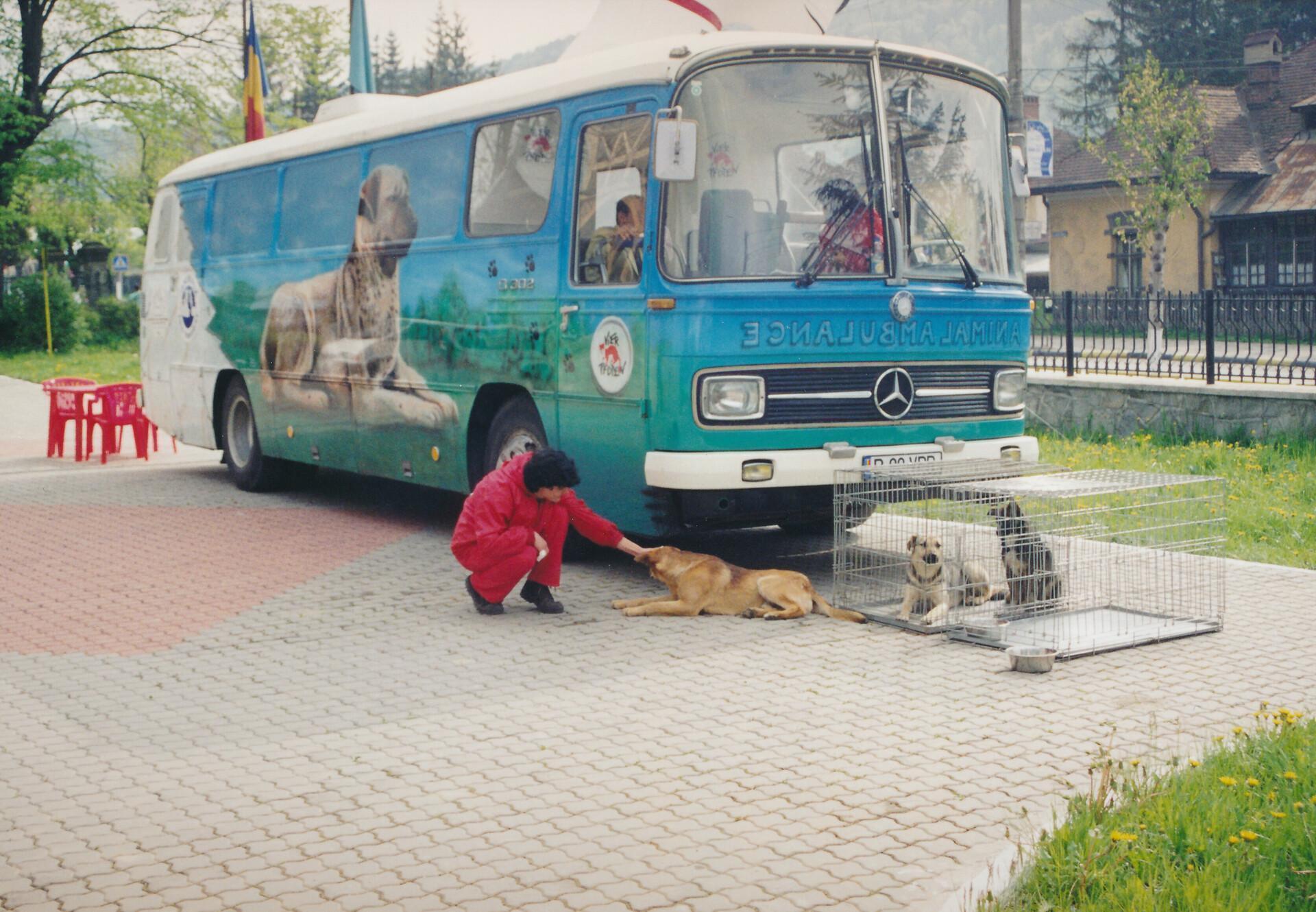 La clinique mobile pour animaux de QUATRE PATTES