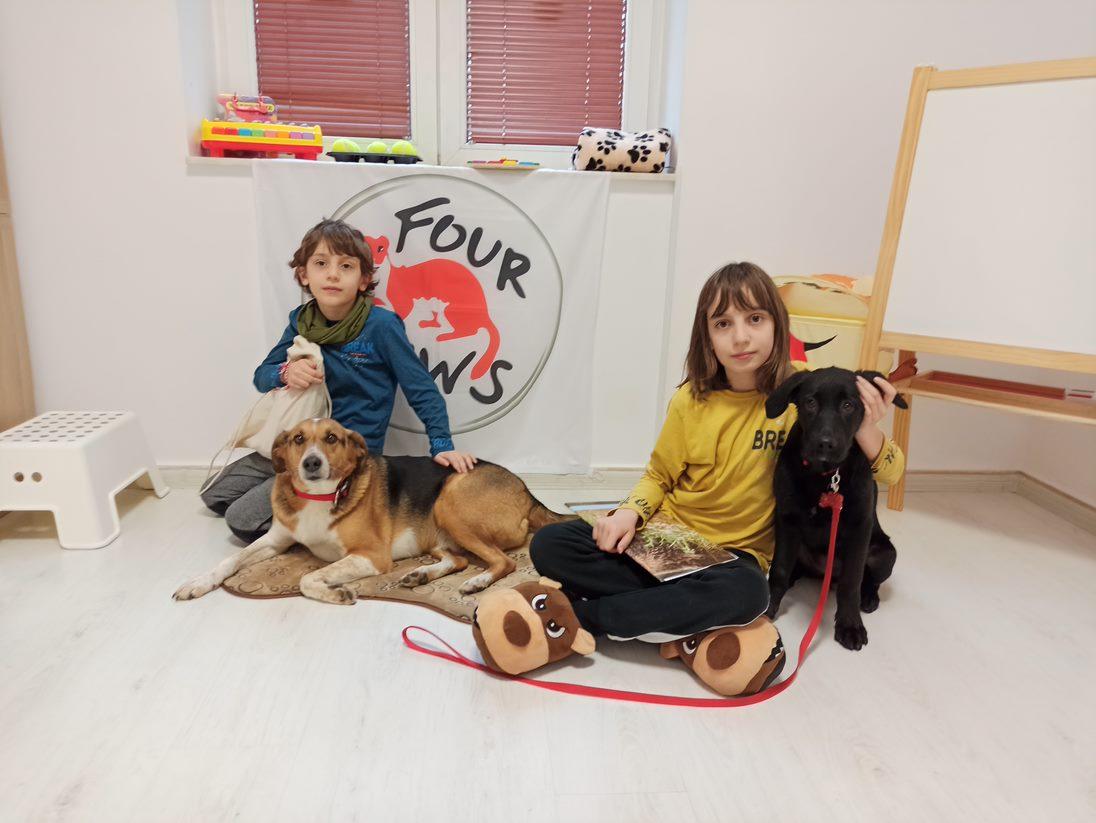 """Участниците в проекта """"Деца се учат да защитават животните"""""""