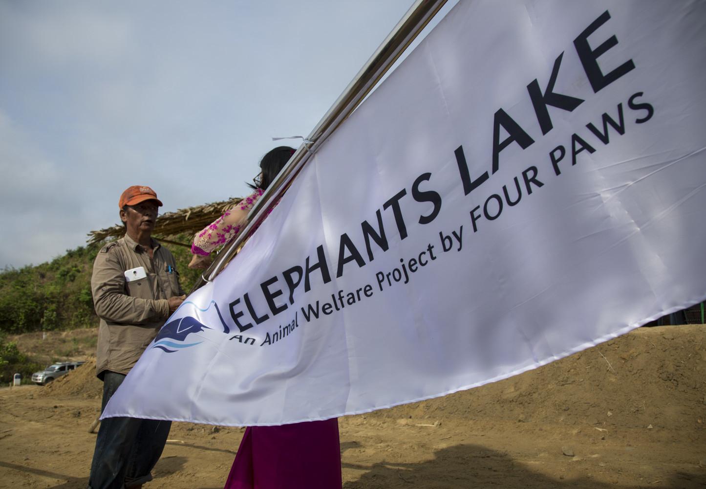 Opening of ELEPHANTS LAKE