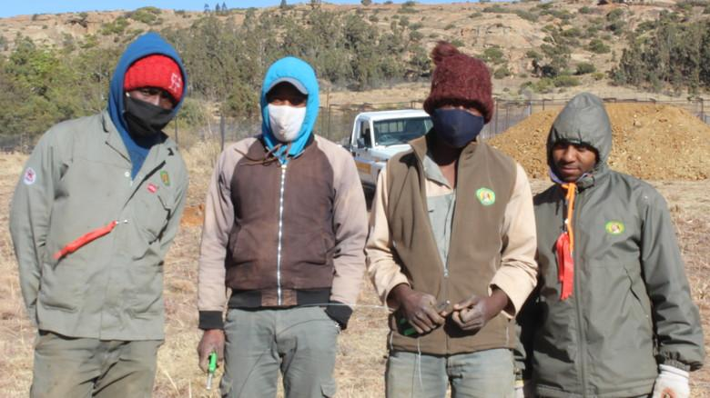 LIONSROCK vegetation team
