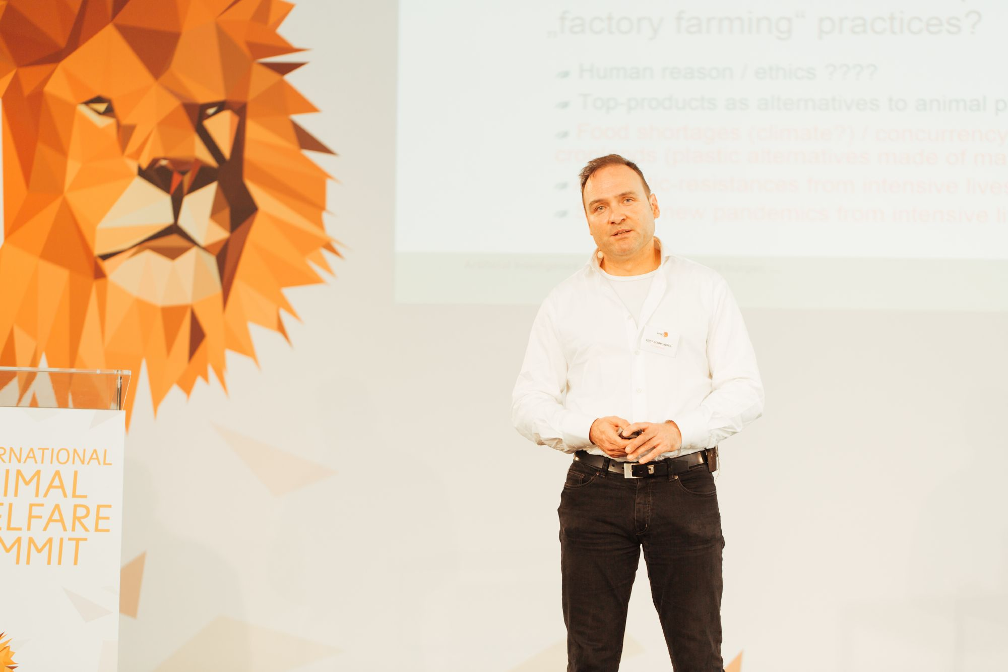 Kurt Schmidinger beim IAWS 2018