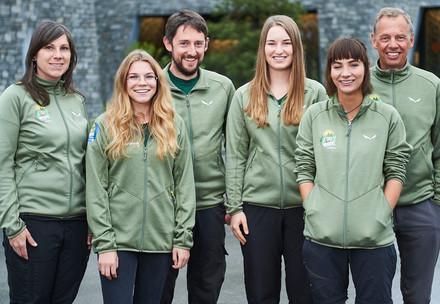 Team des Arosa Bärenland