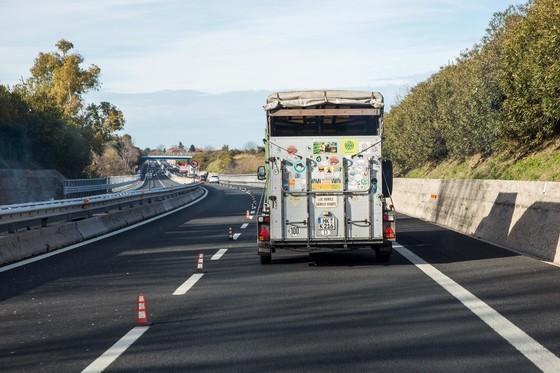 Auf dem Weg durch Italien